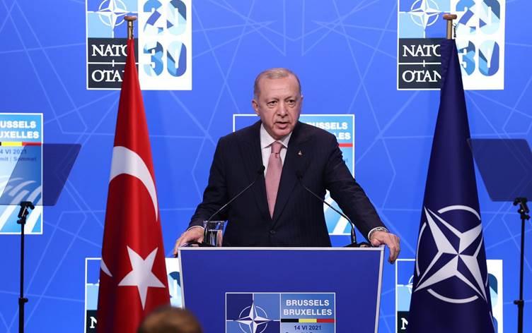 """Erdoğan: """"S-400'e yönelik düşüncemizi Biden'a ifade ettim"""""""