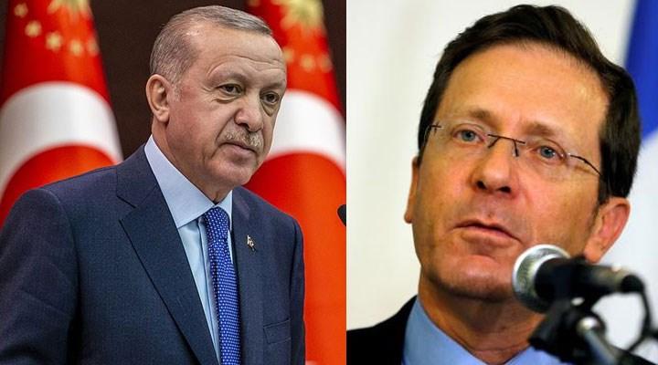 Erdoğan, yeni İsrail Cumhurbaşkanı ile Orta Doğu'yu görüştü
