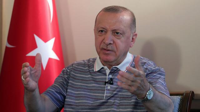 Erdoğan: Artık Kuzey Kıbrıs-Güney Kıbrıs diye bir olay kalmadı