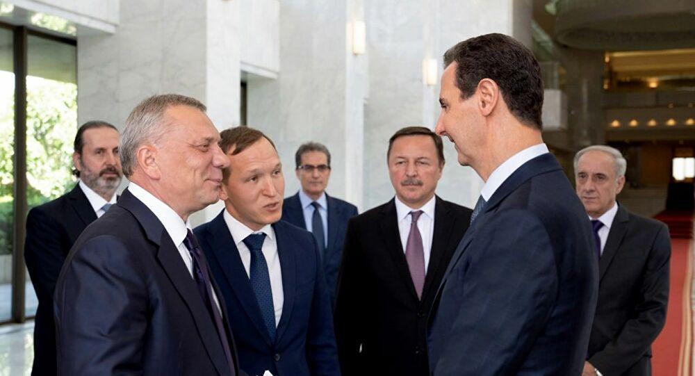 Rus heyeti ve Esad rejimi arasında ikili işbirliği görüşmesi