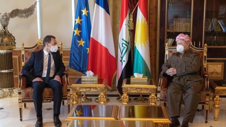 Fransa'dan Başkan Barzani'ye: Kürdistan halkının dostluğu daimdir