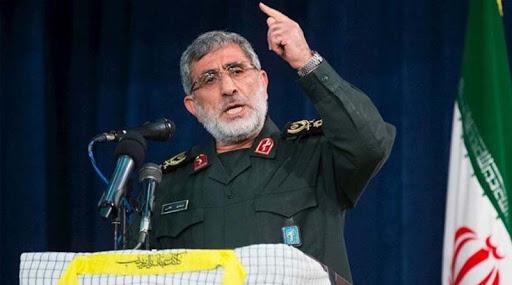İran Kudüs Gücü Komutanı, Haşdi Şabi komutanı için Bağdat'ta