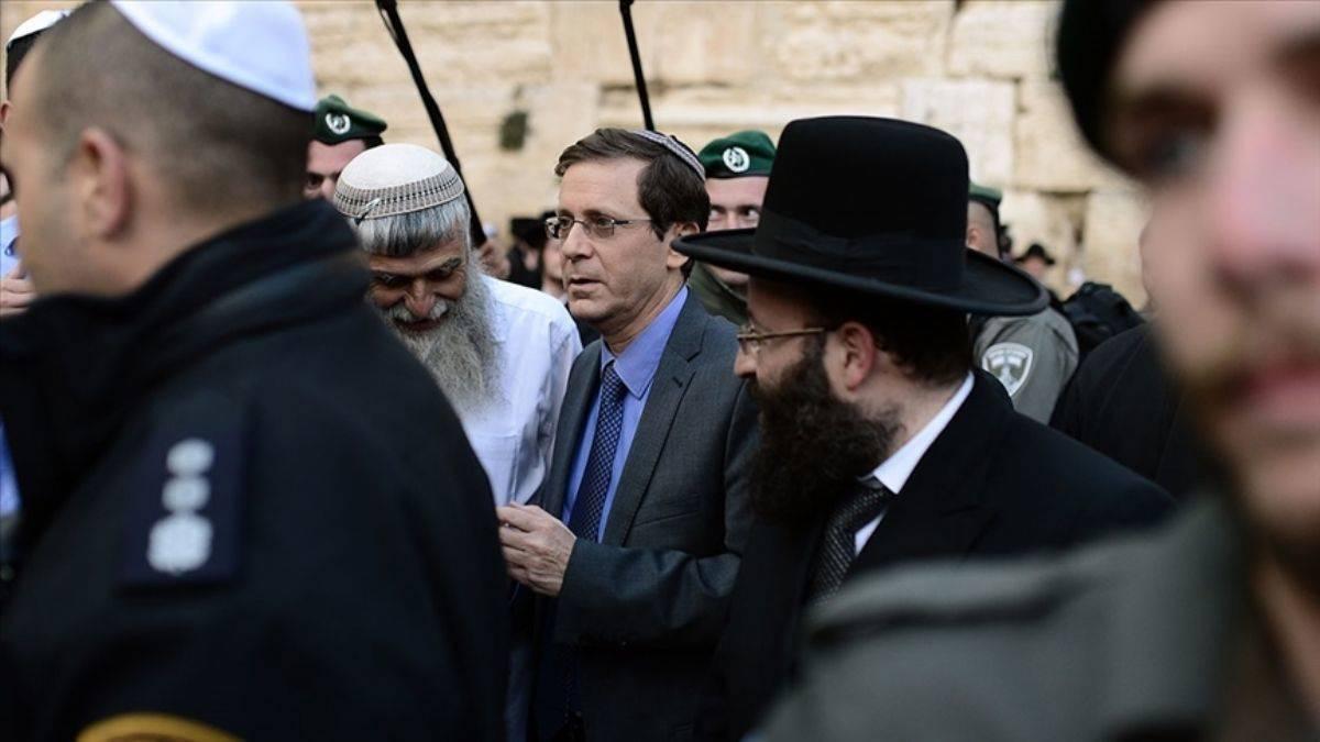 İsrail'in yeni Cumhurbaşkanı Herzog yemin ederek göreve başladı
