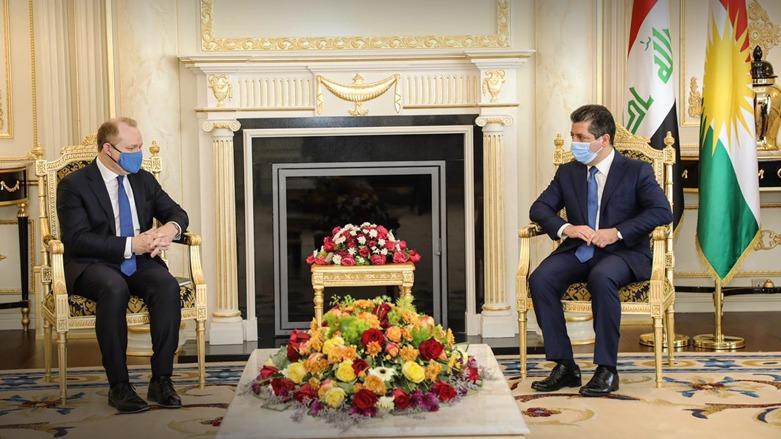 Başbakan, Uluslararası Koalisyon heyeti ile görüştü!