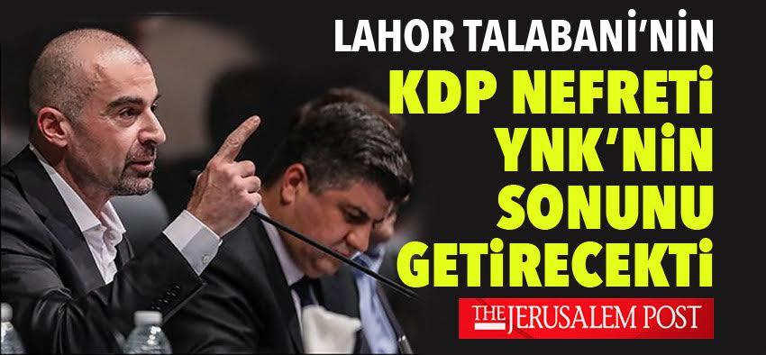 """""""Lahor Talabani'nin gitmesiyle, birleşik bir YNK için umutlar yeniden canlandı"""""""