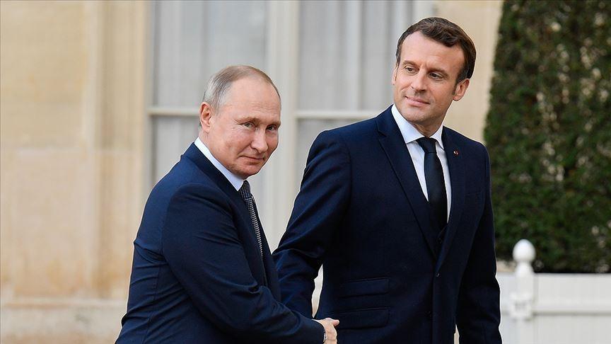 Putin-Macron, Libya ve Ukrayna sorunlarını görüştü