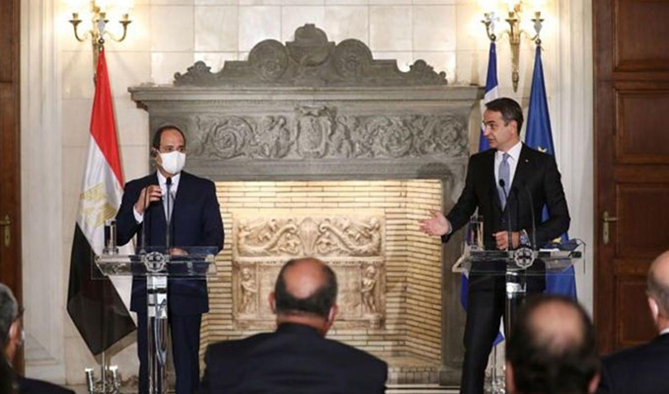 Kahire | Miçotakis ve Sisi'nin gündemi, Türkiye!