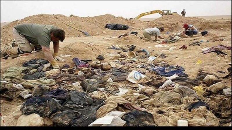 Musul Valiliği: Kentin batısında 123 kişilik toplu mezar bulundu