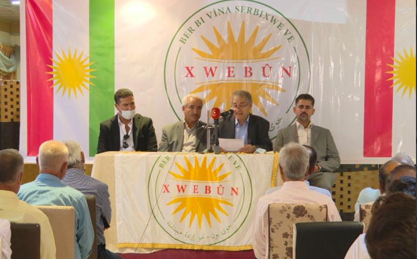 Rojava'da 'Xwebûn' adı ile yeni bir siyasi oluşum kuruldu