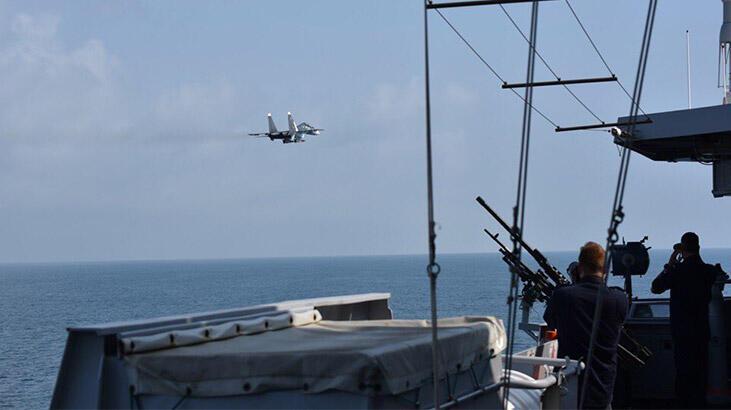 Rus jetlerinin 'Hollanda gemisine taciz' iddiasına yanıt