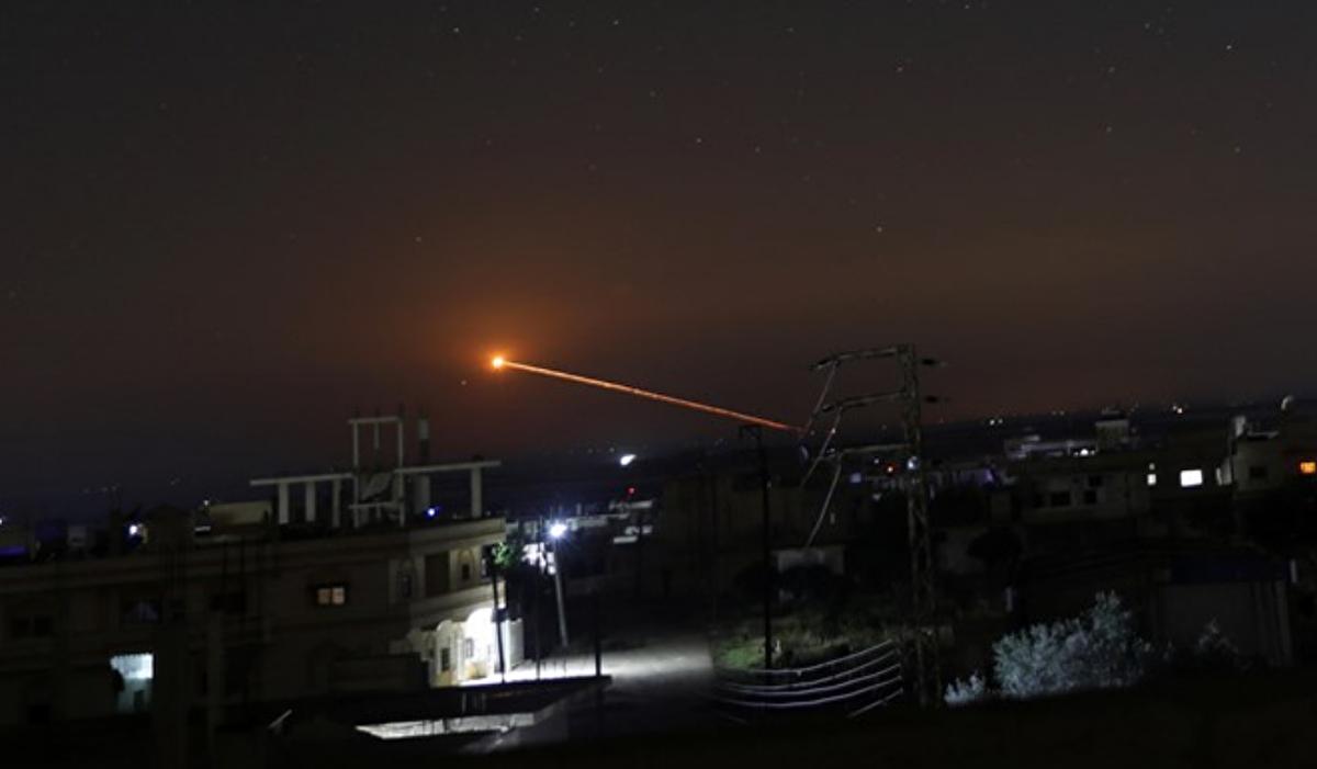 Suriye: İsrail'in saldırılarına karşılık verildi