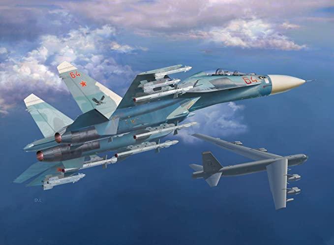Rus jetleri, ABD'nin savaş uçakları için havalandı!