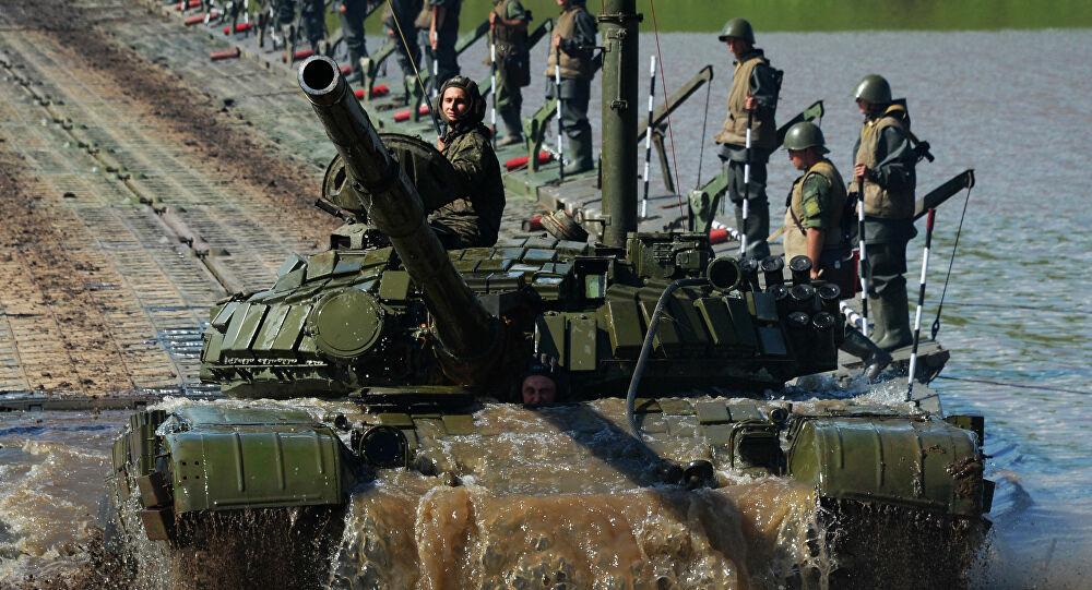 Rusya'dan, Afganistan sınırında Tacikistan ile tatbikat!
