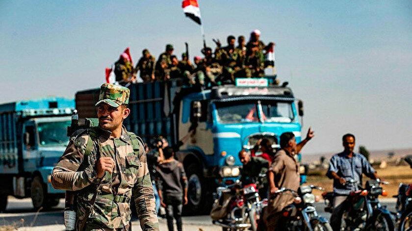 Esad rejiminden Dera bölgesine kuşatma!