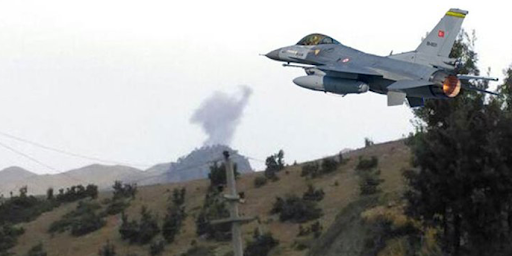 Gare'ye savaş uçakları ile bombardıman!
