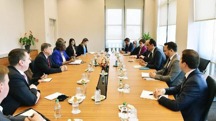ABD'nin BM temsilcisi, Türk heyeti ile Orta Doğu'yu görüştü