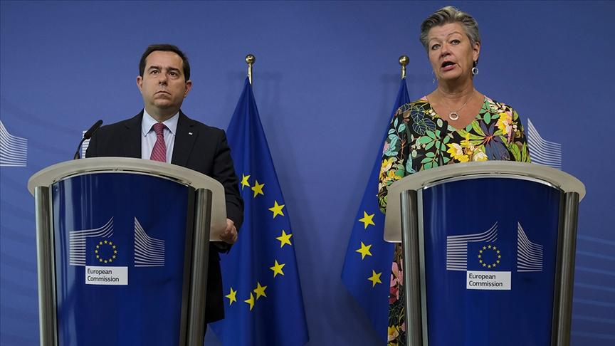Yunanistan ile AB arasında anlaşmazlık: Türkiye sınırına 'ses topu'