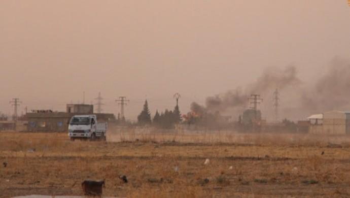Rojava'da top saldırıları: Til Temir'de çatışma, iki köy bombalandı!