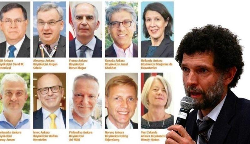 Erdoğan'ın büyükelçileri 'İstenmeyen kişi' ilan etmesine uluslararası tepkiler!